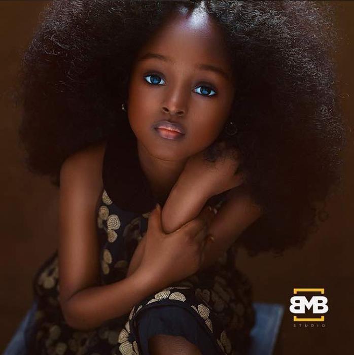 Младшая из сестер Ижабана. Instagram mofebamuyiwa.