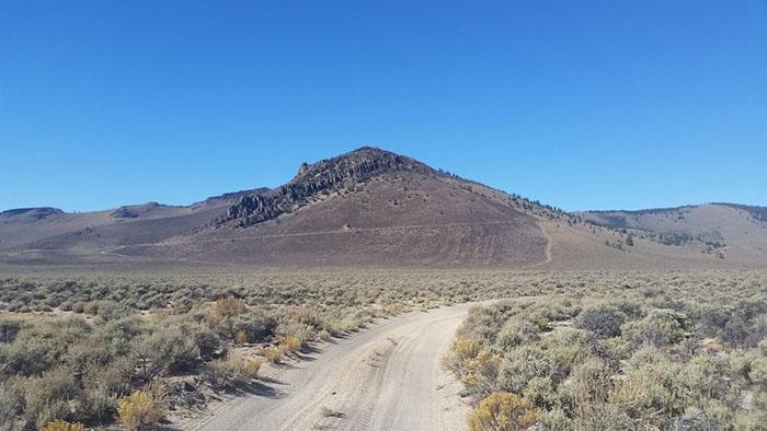 Орегонская пустыня.
