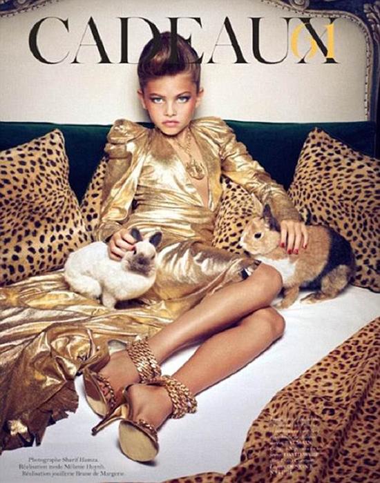 Скандальная фотосессия Vogue.