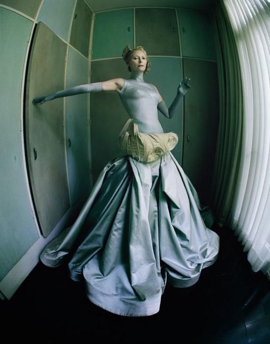 Британская актриса Тильда Суинтон.
