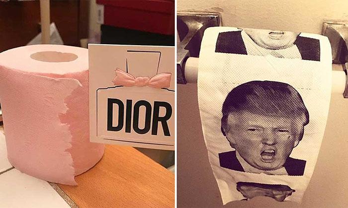 Туалетная бумага.