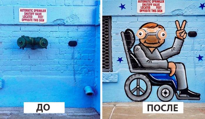 Работы уличного художника из Нью-Йорка. Instagram tombobnyc.