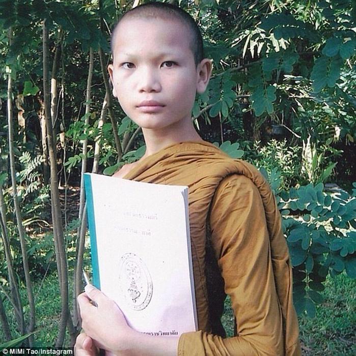 Фаджаранат в 12-летнем возрасте.