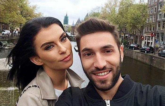 Хлоя и Даниеле в Амстердаме.