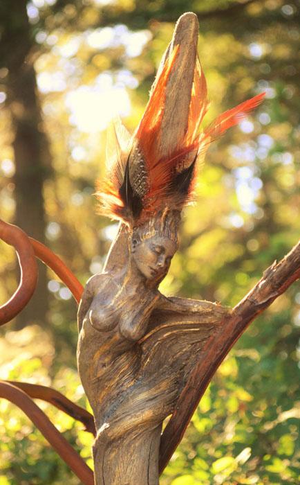 Танцующий дух.  Автор: Debra Bernier.