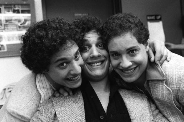 Девид, Роберт и Эдди.