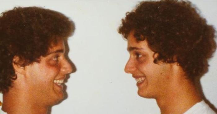Эдди и Роберт были рады найти друг друга.