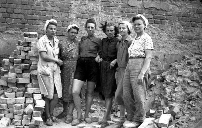 Женщины после войны.