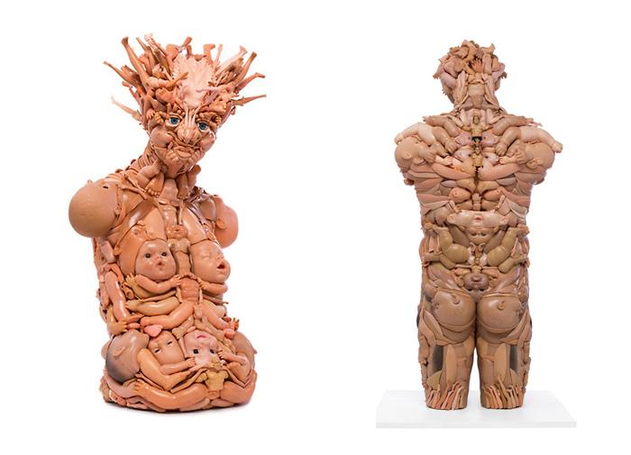 Пластиковые скульптуры Фрейи Джоббинс.