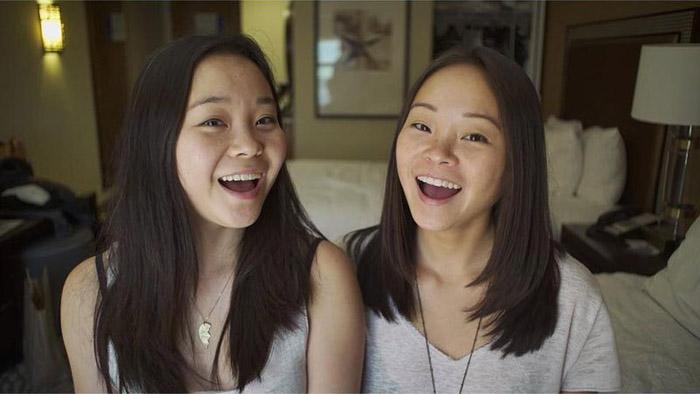 Сестры-близняшки даже не подозревали о существовании друг друга.