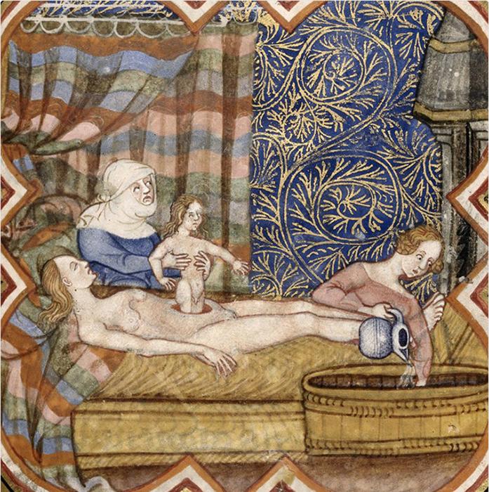 Представление художника о рождении гомункула.