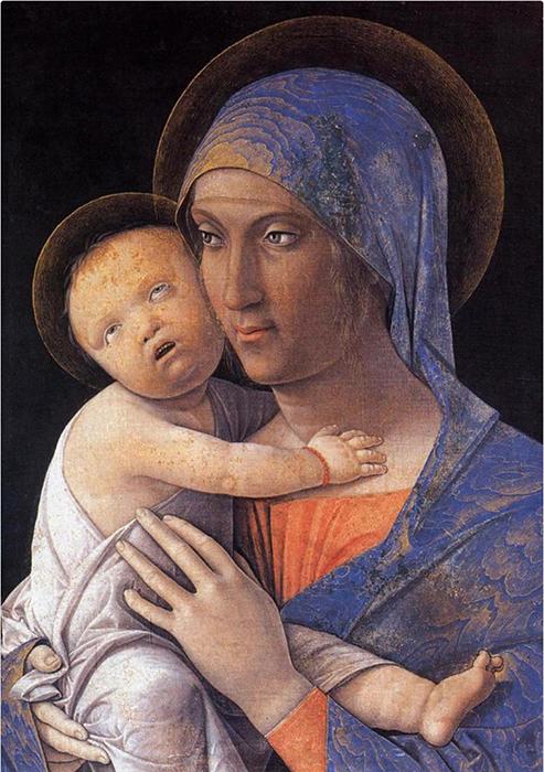 Андреа Мантегна *Мадонна с ребенком.*