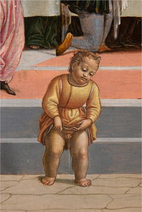 Джулиано Буджардини *Сцена из Истории Тобиаса.*