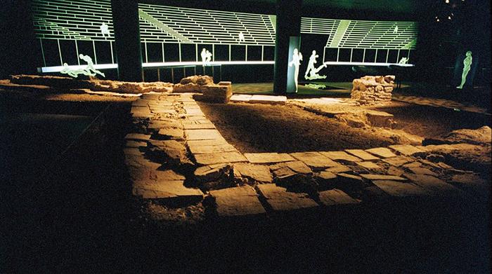 Римские развалины.