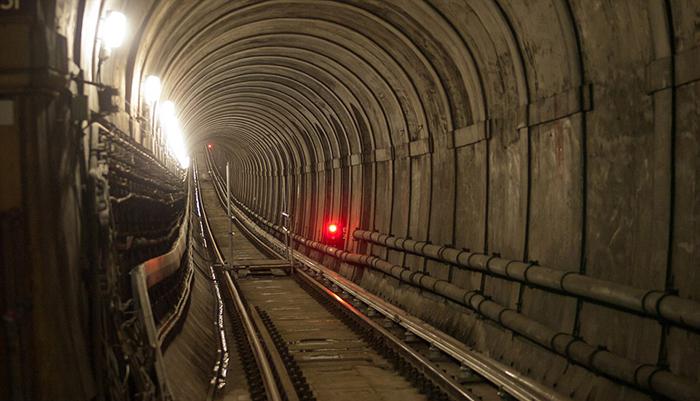 Тоннель под Темзой.
