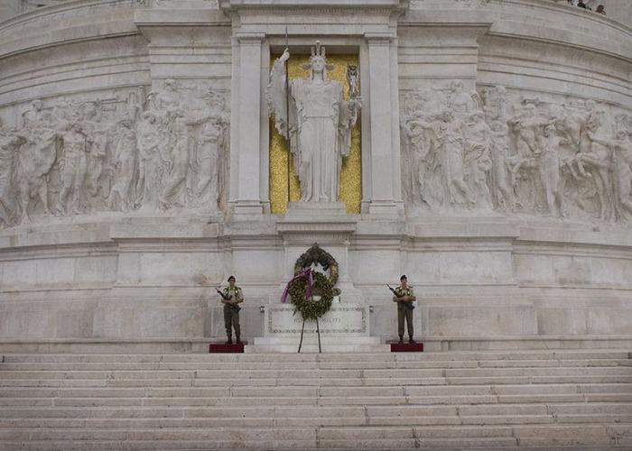 Могила Неизвестного Солдата в Риме.