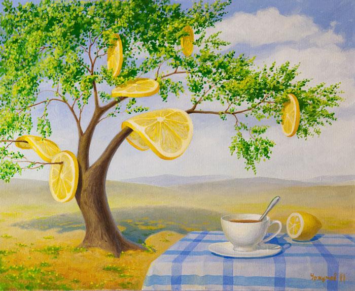 Виталий Уржумов *Чай с лимоном*.