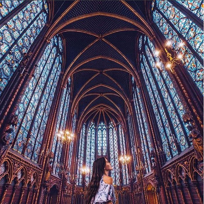 Собор в Париже.  Instagram vi66nya.