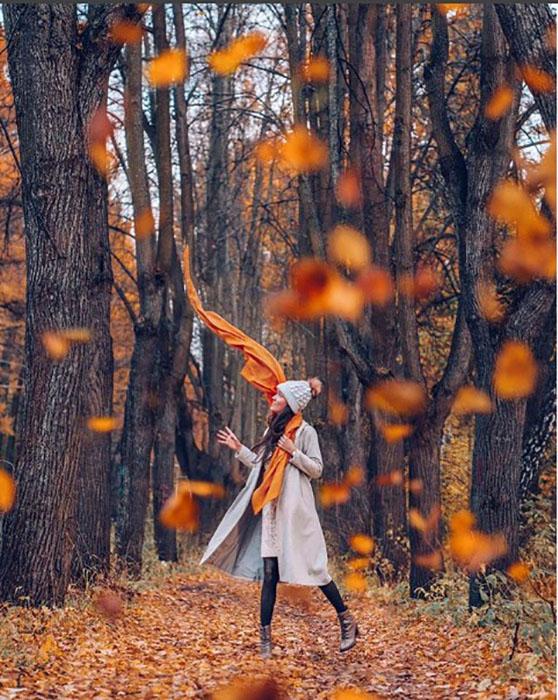 Осень в Москве.  Instagram vi66nya.