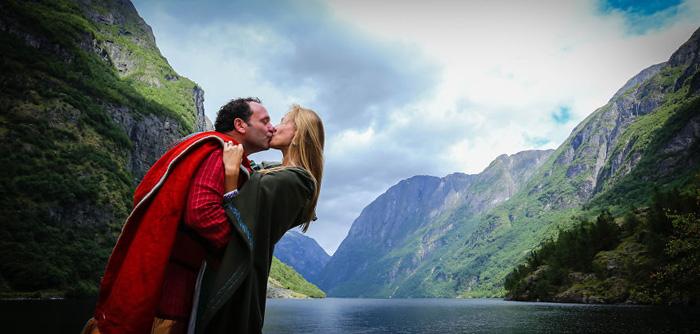 Свадьба в стиле викингов.  Автор фото: Paul Edmundson.