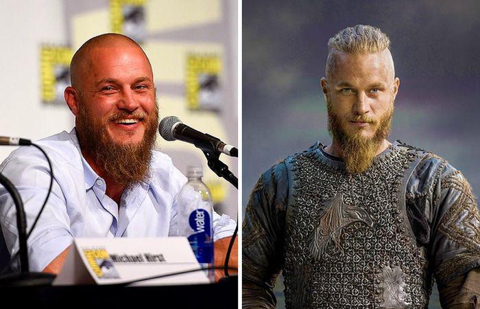 Travis Fimmel— Ragnar Lothbrok.