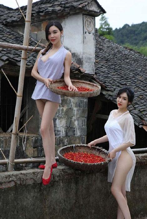 Реальные деревенские девушки
