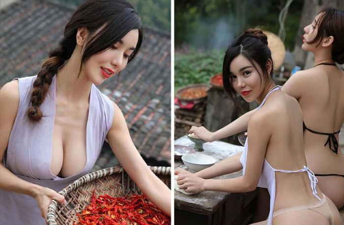 Соблазнительные китайские девушки.