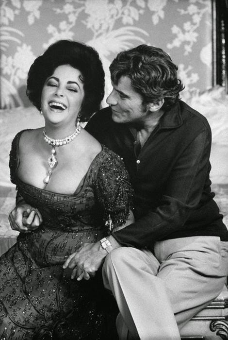 Джон Варнер и Элизабет Тейлор.
