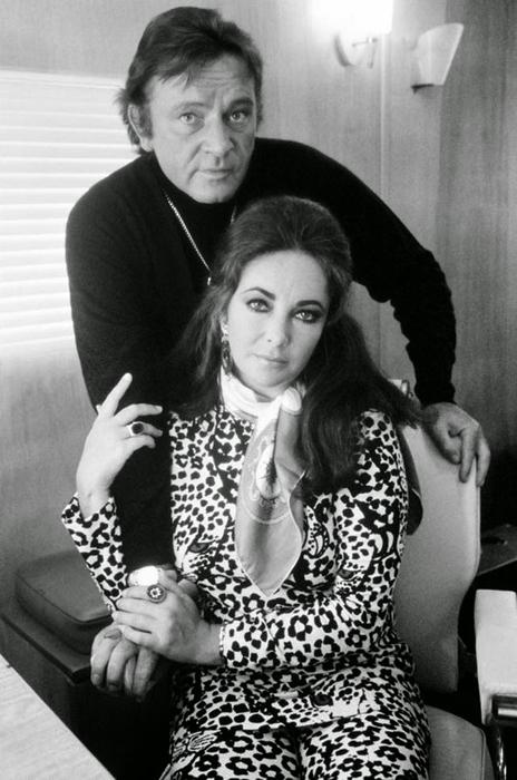 Ричард Бертон и Элизабет Тейлор.