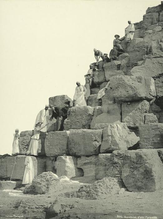 Подъем на пирамиду.