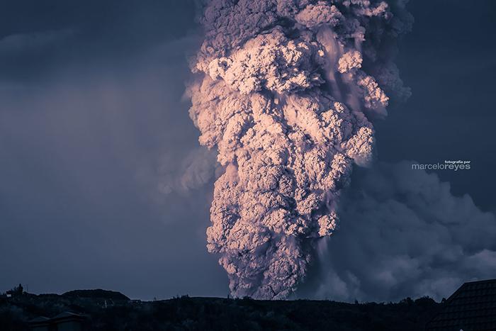 Кальбуко - один из самых опасных вулканов в Чили.