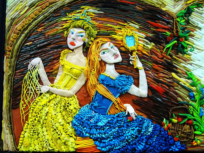 Старшие сестры. Автор: Анастасия Волкова.