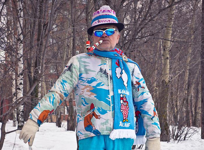 У Виктора Сергеевича найдется особый костюм на любую погоду.