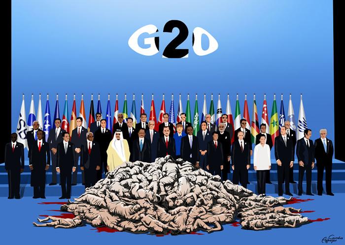 Большая двадцатка. Автор: Gunduz Agayev.