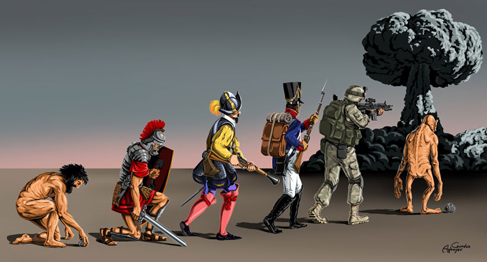 Эволюция. Автор: Gunduz Agayev.