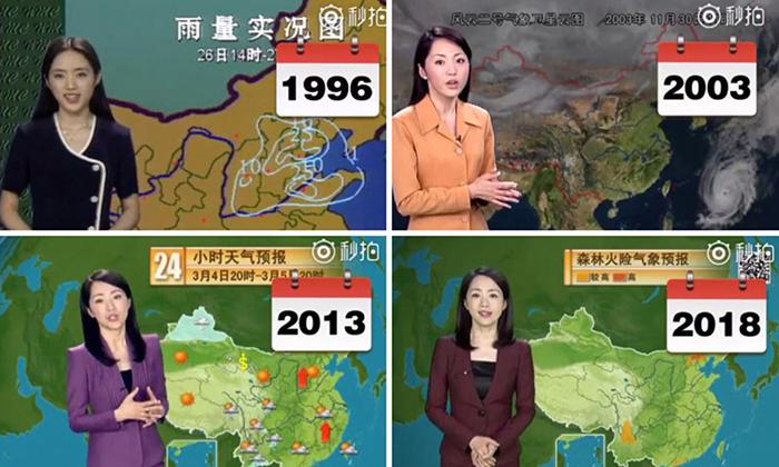 Янг Дан ведет программу прогноза погоды уже 22 года.