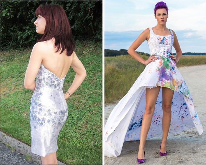 Новая жизнь свадебным платьям.