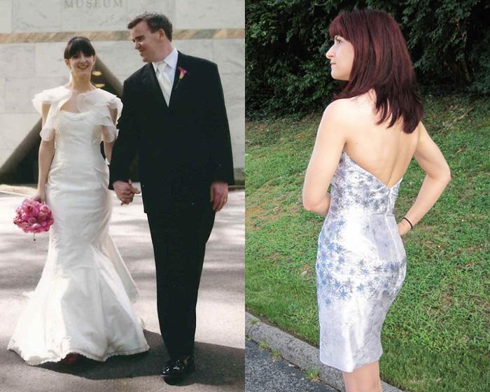 Трансформация в котельное платье.