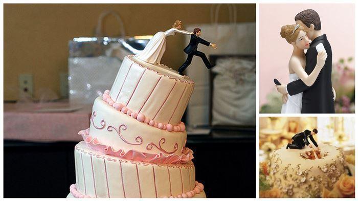 Фигурки для свадебного торта.
