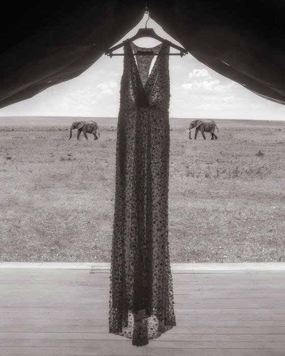 Свадебное платье Нины.