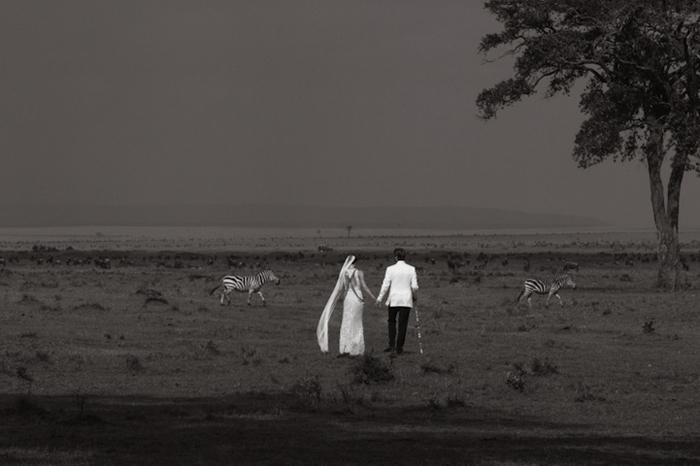 Нина и Себастьян: свадьба в Кении.