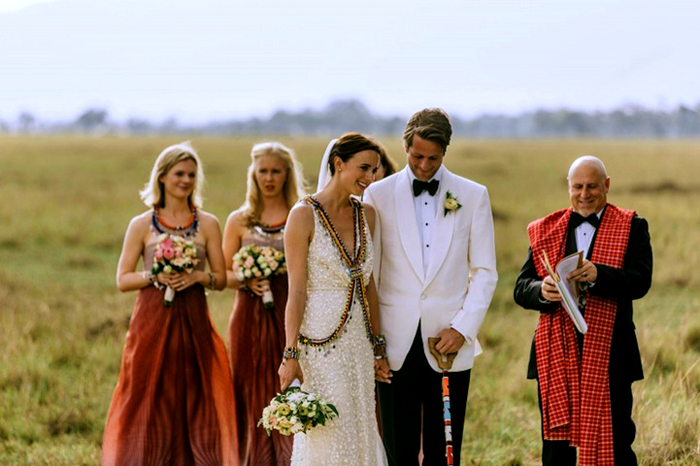 Нина и Себастьян: фото со свадебной церемонии.
