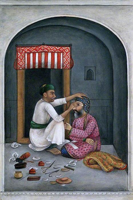 Операция на глазу. Автор неизвестен, ок.1825г.