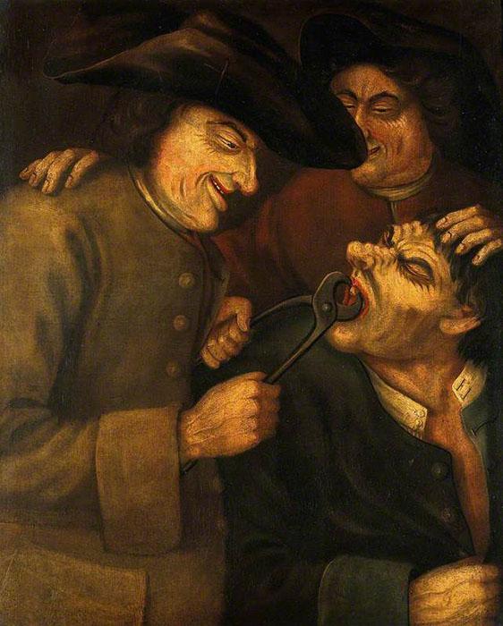 Удаление зуба. Автор: John Collier.