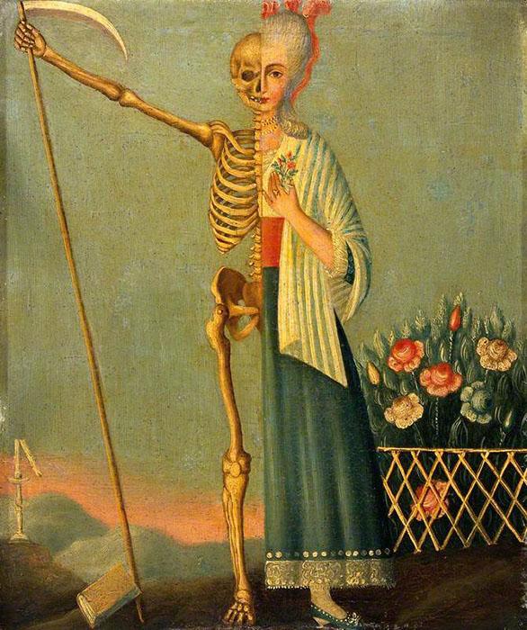 Жизнь и смерть. Автор неизвестен.
