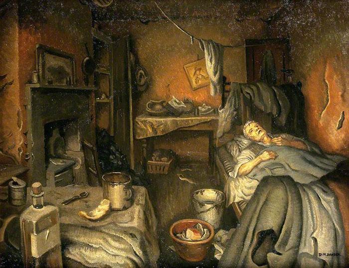 Пациент дома. Автор: Dorothy Mary Barber, 1953 г.