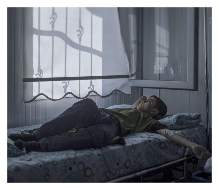 Мохаммед, 13 лет. Госпиталь в городе Низип, Турция.