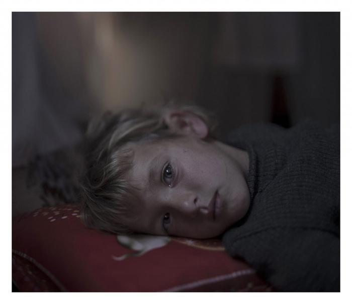 Валаа, 5 лет, лагерь для беженцев в Ливане.