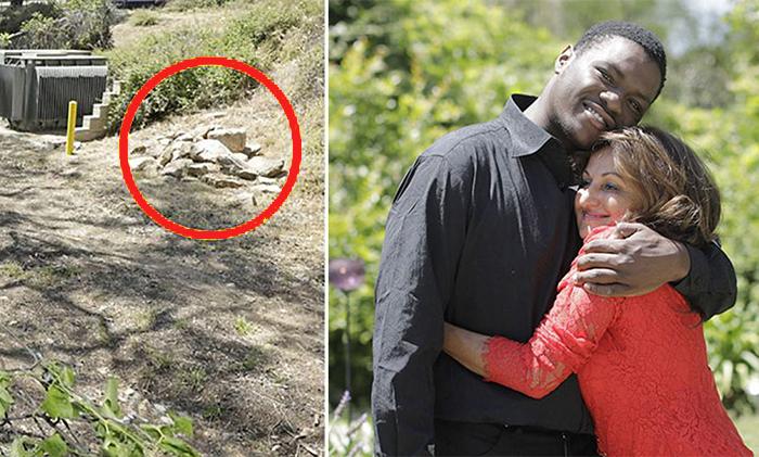 Женщина нашла похороненного заживо ребенка.