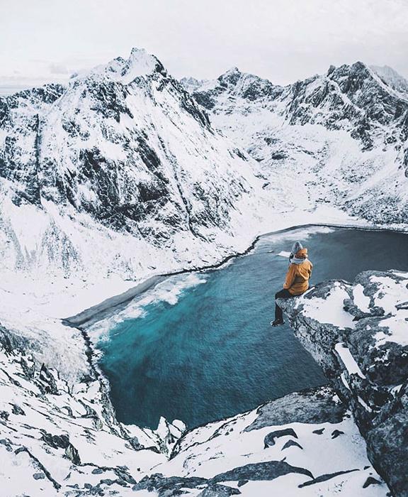 Норвежские горы.  Фото: Mads Nordsveen.